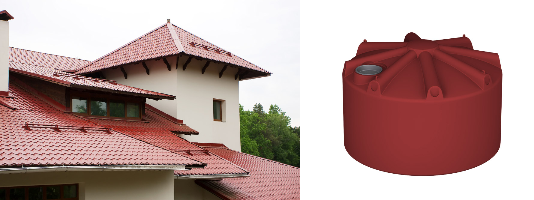 At Global We Make Above Ground, Underground And Urban Rainwater Tanks To  Suit Your Home!