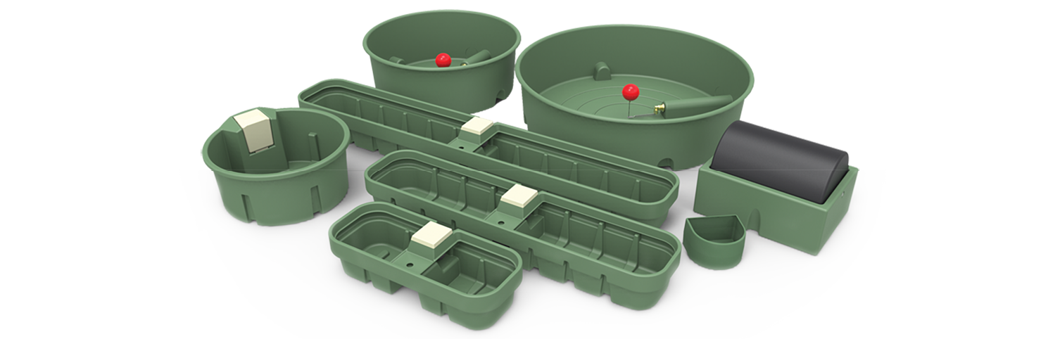 agricultural troughs