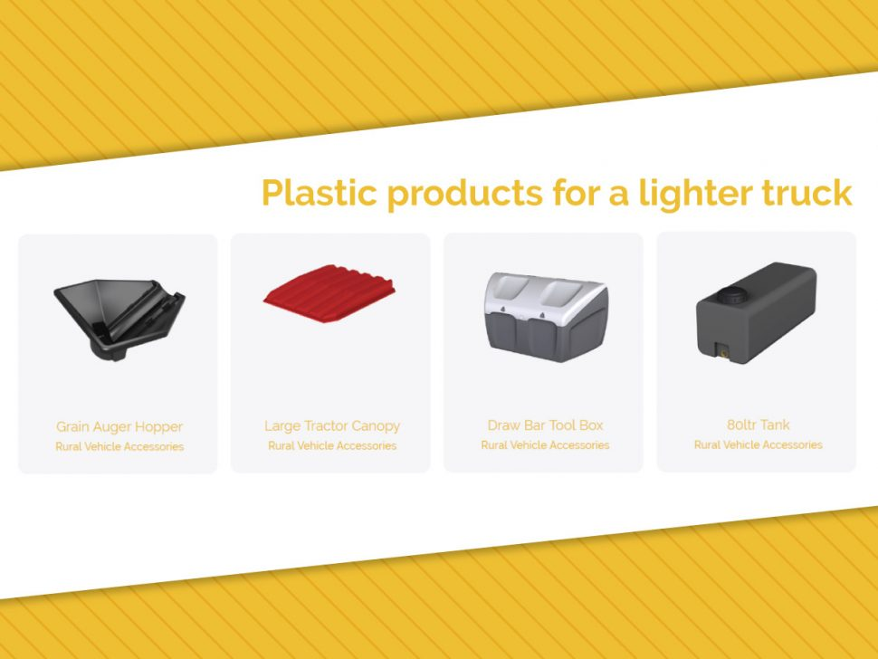 Plastic Products for a Lighter Truck