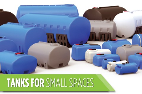 Tanks for Small Spaces