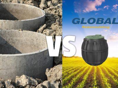 Comparing Plastic and Concrete Septic Tanks