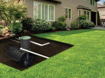 The discreet solution: urban underground rainwater tanks