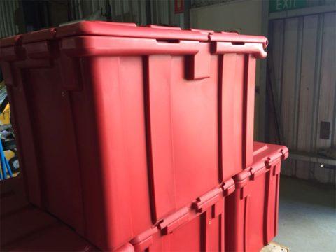 plastic rust free tool box