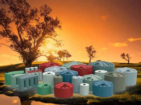 Matching tank colours to your home using the colorbond colour range