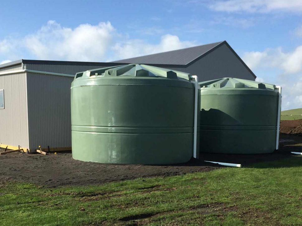 plastic rainwater tanks