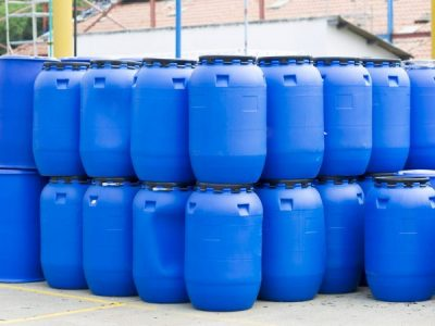 Can diesel be stored in plastic tanks?