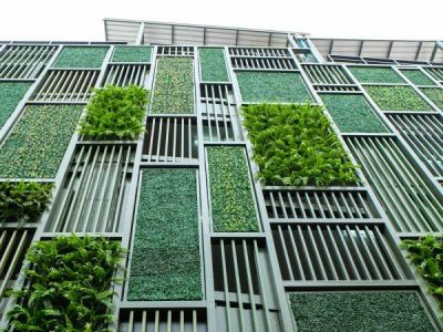 How Urban Tanks can Secure Water for Dense Vertical Gardens