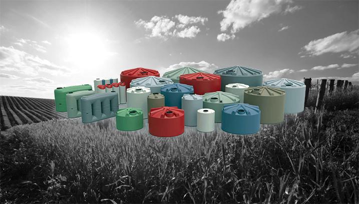 Global Rotomoulding Water Tank Range