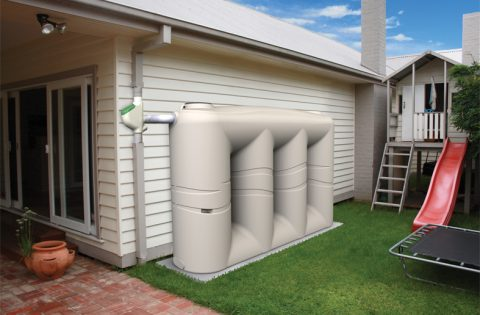 Global Rotomoulding House Side Camel Water Tank