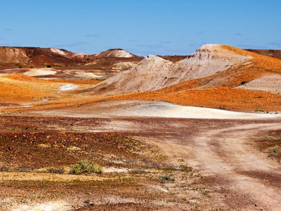 Broken Hill Desert Landscape