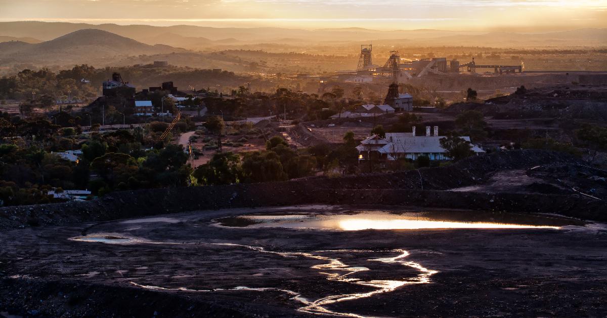 Broken Hill City Aerial View